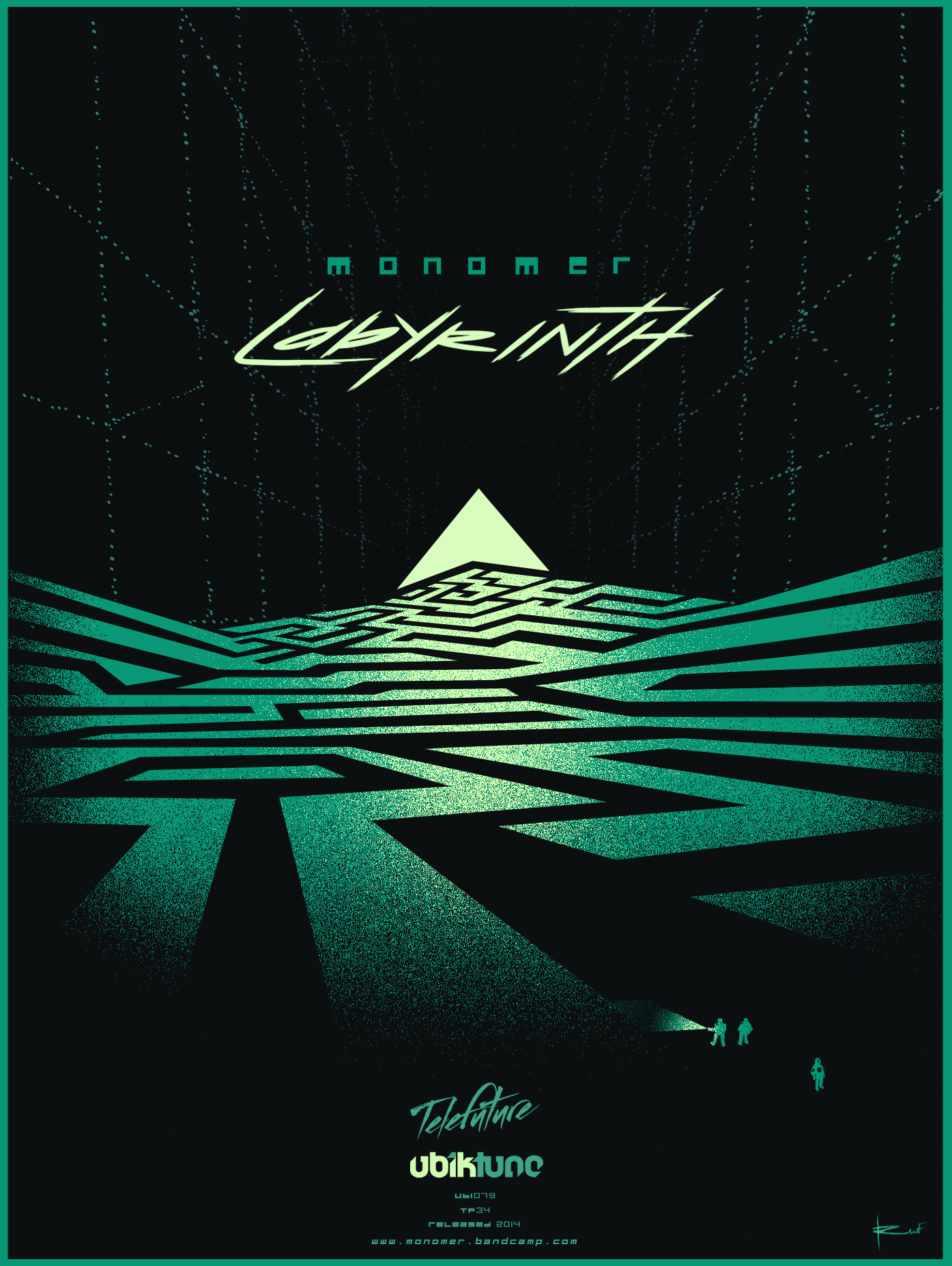 Poster design hd - Alternative Poster Design For Monomer S Labyrinth Created By Rufus Blacklock Click On Thumb For Hd Version